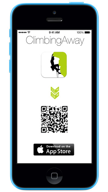 Download ClimbingAway on the AppStore or with QRCode