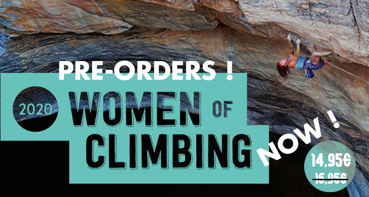 Women of Climbing 2020 rock climbing calendar pre-orders on ClimbingAway