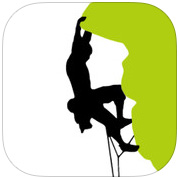 Icone de l'application iOS ClimbingAway