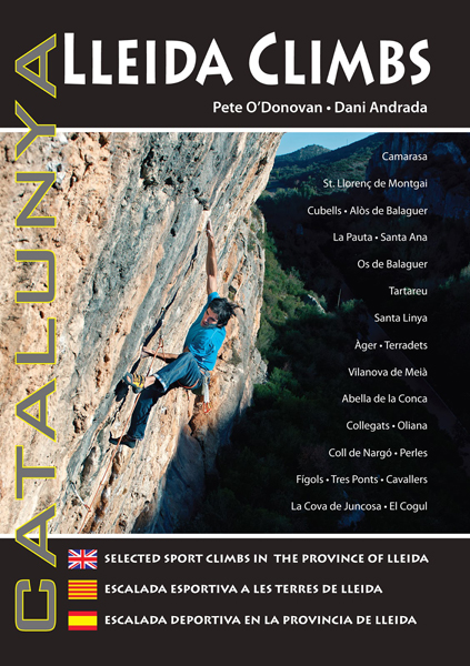 Cover of the guide book Catalunya : Lleida Climbs