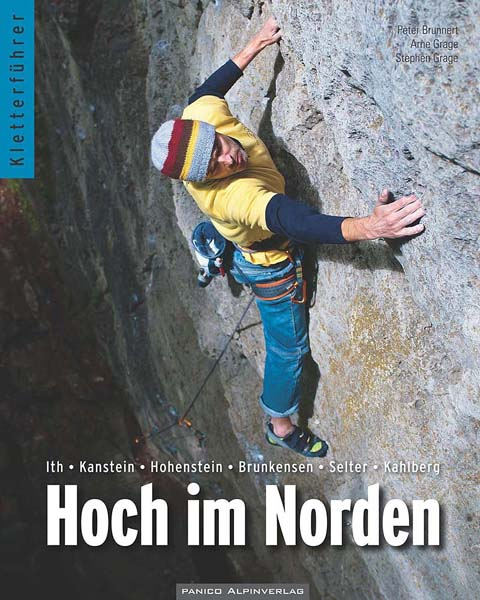 Cover of the guide book Hoch im Norden