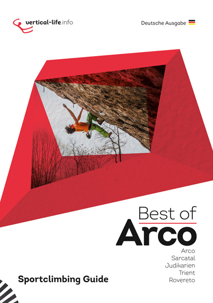 Cover of the guide book Best of Arco