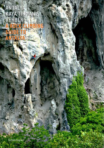 Cover of the guide book A Rock Climbing Guide to Antalya