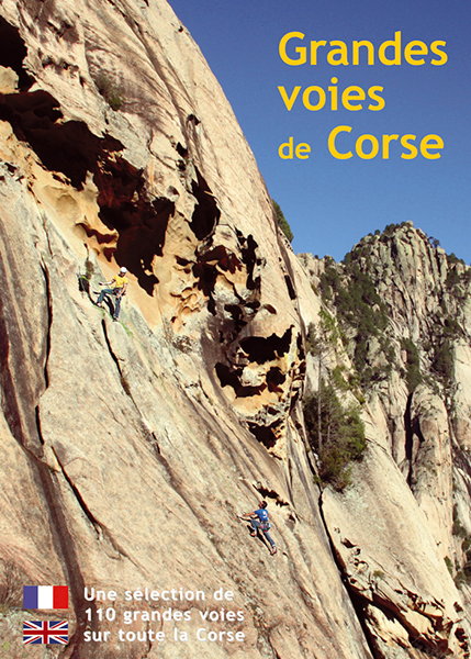 Cover of the guide book Grandes voies de Corse