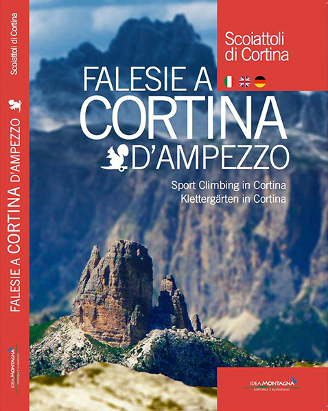 Cover of the guide book Falesie a Cortina d
