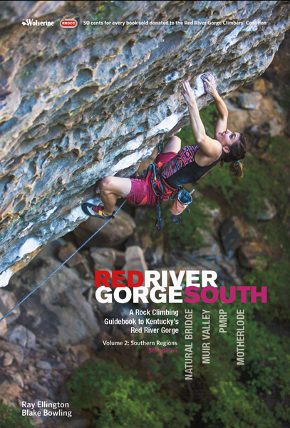 Cover of the guide book Red River Gorge South