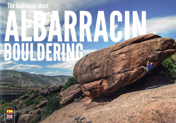 Cover of the guide book Albarracin Bouldering