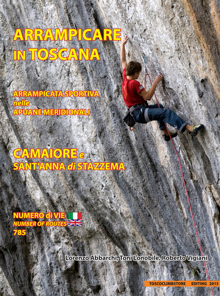 Couverture du topo Arrampicare in Toscana