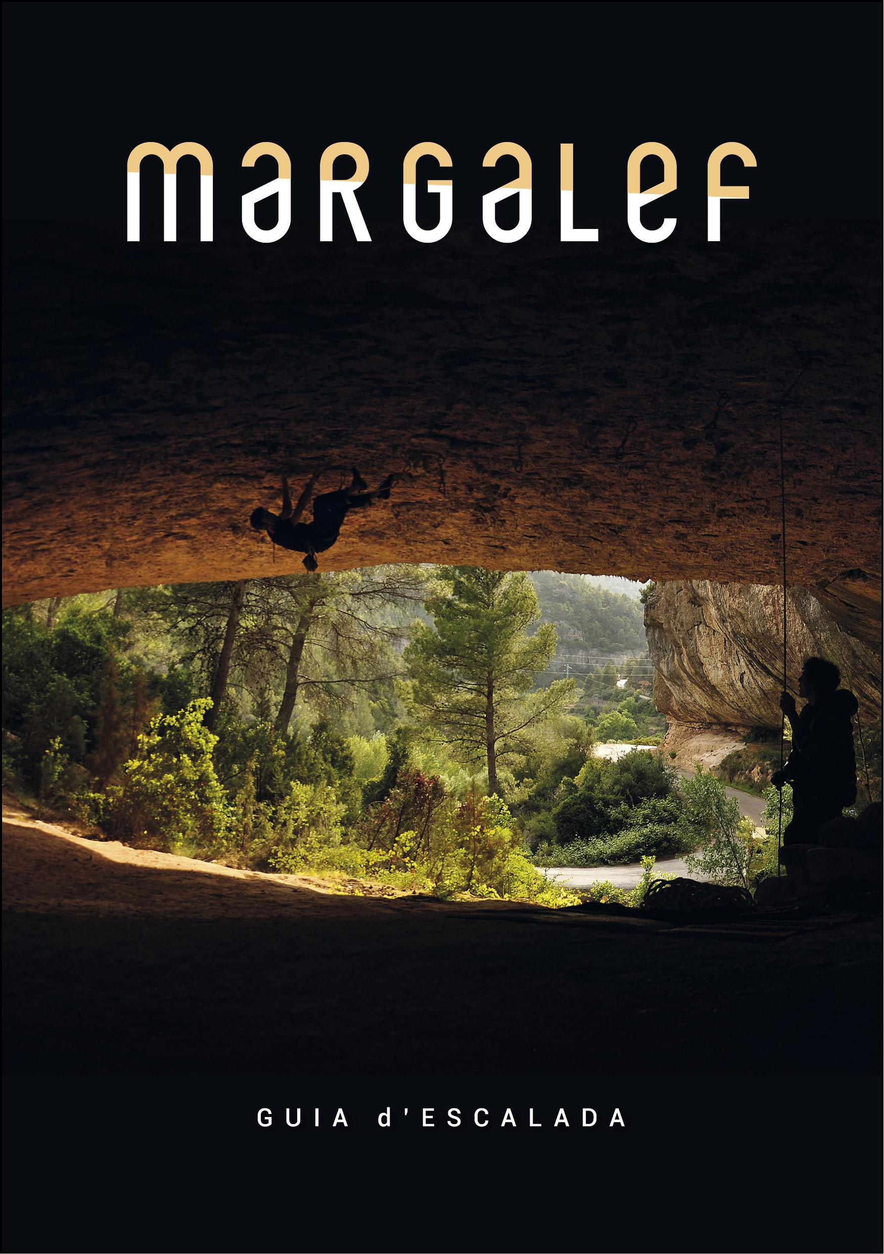Cover of the guide book Margalef - Guía d