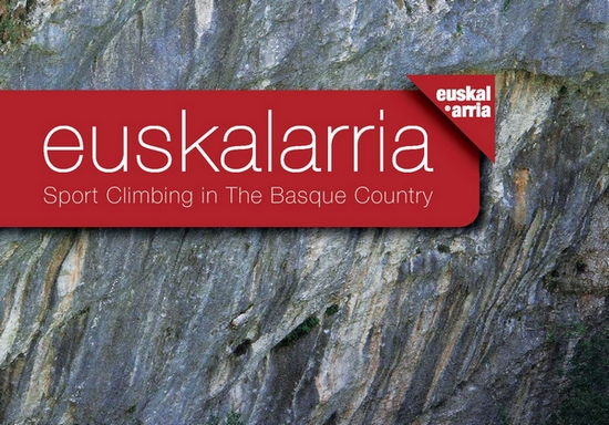 Portada de la guía Euskalarria 2.0 Sport Climbing in the Basque Country