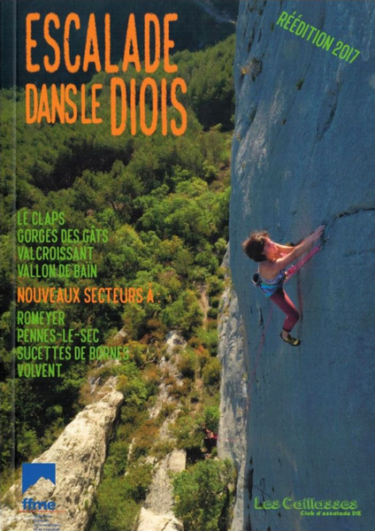 Cover of the guide book Escalade dans le Diois