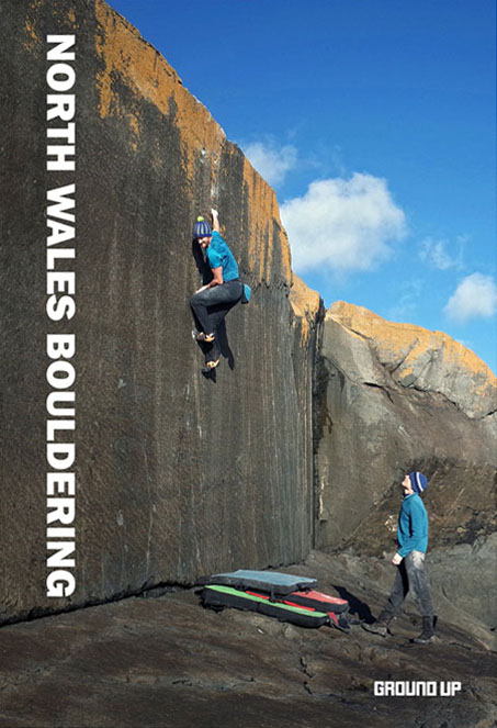 Cover of the guide book North Wales Bouldering