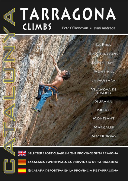 Cover of the guide book Catalunya : Tarragona Climbs