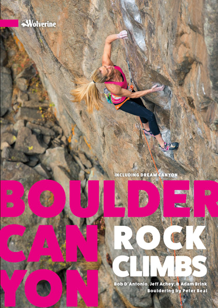 Couverture du topo Boulder Canyon rock climbs