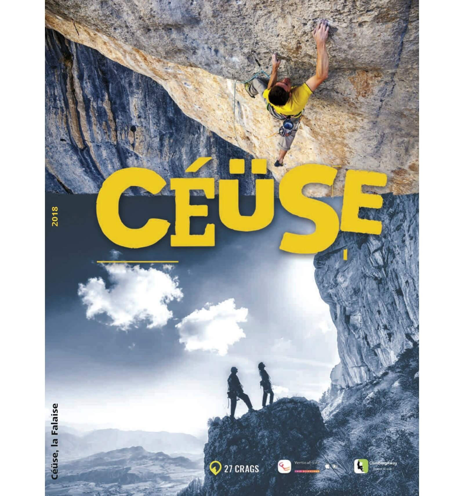 Cover of the guide book Céüse