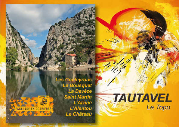 Cover of the guide book Tautavel le topo