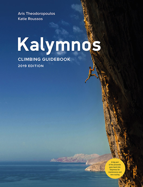 Cover of the guide book Kalymnos - Rock Climbing Guidebook