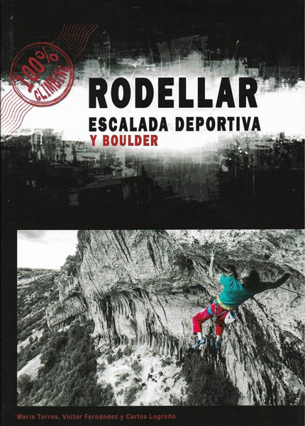 Cover of the guide book Rodellar escalada deportiva y boulder