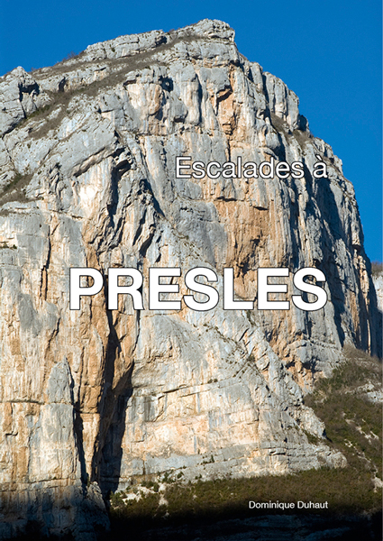 Cover of the guide book Escalades à  Presles