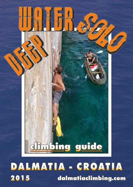 Cover of the guide book Deep Water Solo Dalmatia