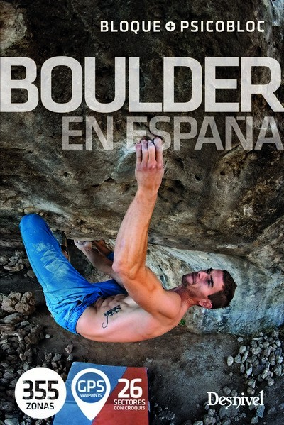 Cover of the guide book Boulder en España
