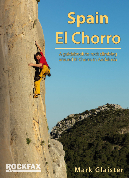 Cover of the guide book El Chorro