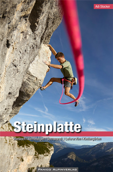 Cover of the guide book Steinplatte