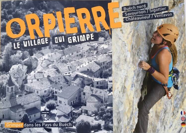 Cover of the guide book Orpierre - Le village qui grimpe