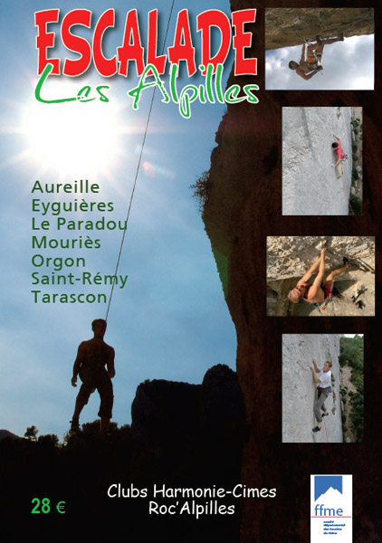 Cover of the guide book Escalade - Les Alpilles
