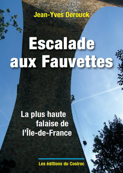 Cover of the guide book Escalade aux Fauvettes