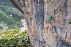 Klemen Becan  dans Endless Journey 8a+  / Abella de la Conca