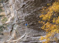 Transworld depravity 5.14a  / Red River Gorge (The Motherlode)