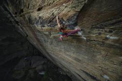 Margo Hayes  dans The Golden Ticket 5.14c  / Red River Gorge (Chocolate Factory)