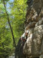 Send Me On My Way 5.9  / Red River Gorge (Muir Valley - Bruise Brothers Wall)