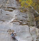 Max  5.11a  / Red River Gorge (Drive-By Crag)