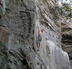 Red River Gorge  (Miller Fork - Chaos)