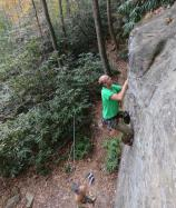 Loïc  dans Shawty 5.8  / Red River Gorge (Muir Valley - Practice Wall)